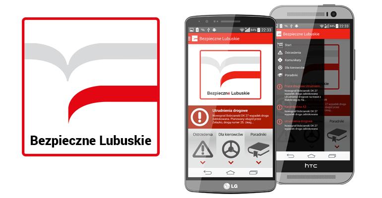 """Nowa odsłona aplikacji """"Bezpieczne Lubuskie"""" w sierpniu"""
