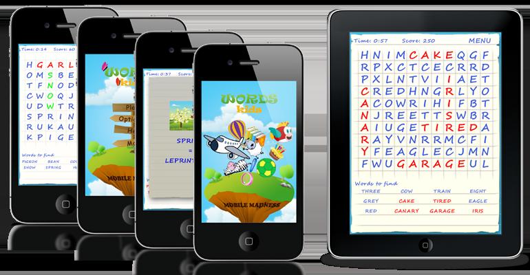 Words Kids dostępny na AppStore