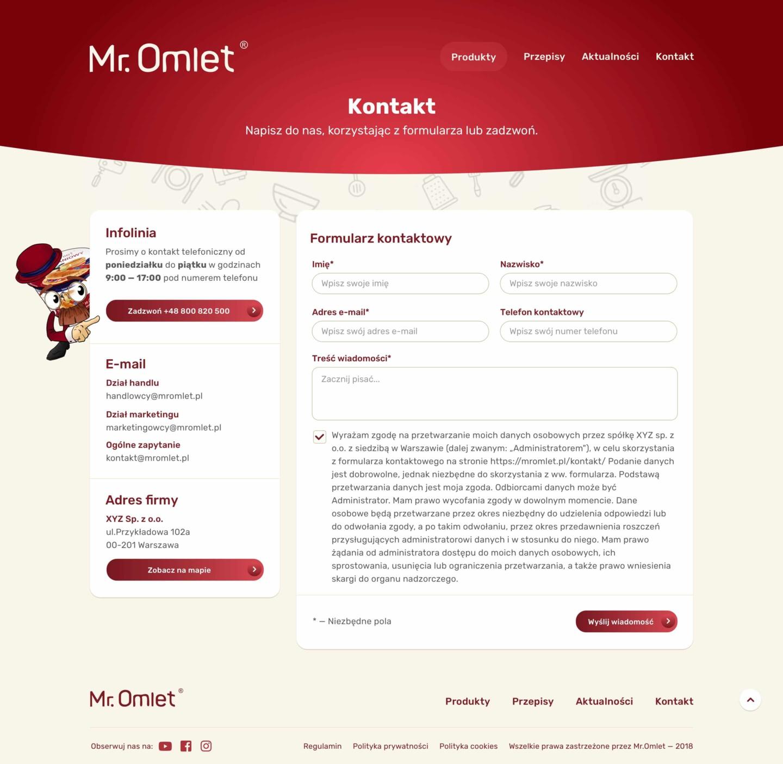 Zrzut ekranu z tabletu